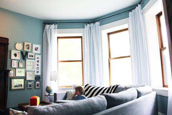 Turret Window Treatments FromFoyer