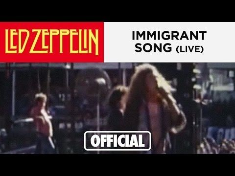 Led Zeppelin - Immigrant Song - Australia 1972
