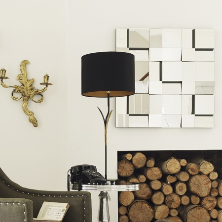 Fireplace fill in idea
