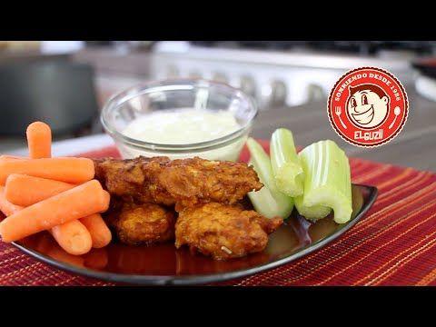 Como hacer Boneless de Pollo (SUPER BOWL SNACKS) - El Guzii - YouTube