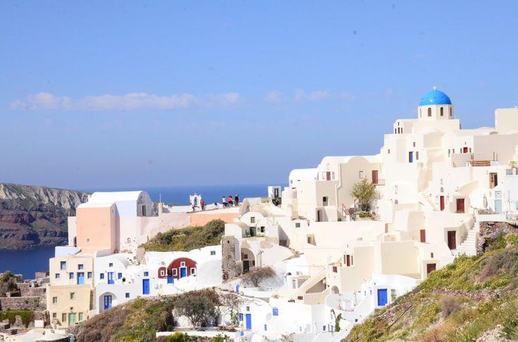 白い街並み サントリーニ島(ギリシャ・エーゲ海)