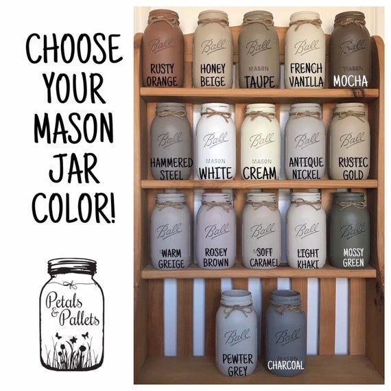 Utensil Holder Kitchen Decor Modern Farmhouse Decor Kitchen Etsy Mason Jar Bathroom Mason Jar Soap Dispenser Mason Jar Bathroom Decor