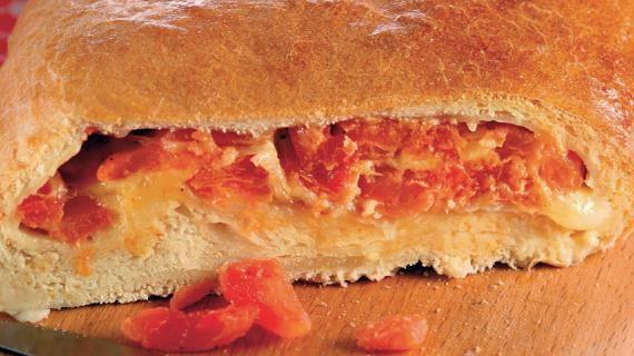 Хрустящий томатный пирог с моццареллой. Пошаговый рецепт с фото, удобный поиск рецептов на Gastronom.ru