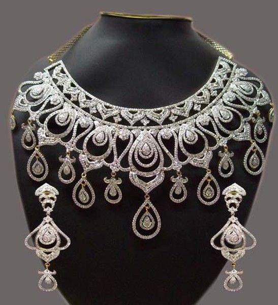 Diamond Jewellery Designs | Latest Traditional Bridal Jewellery Designs