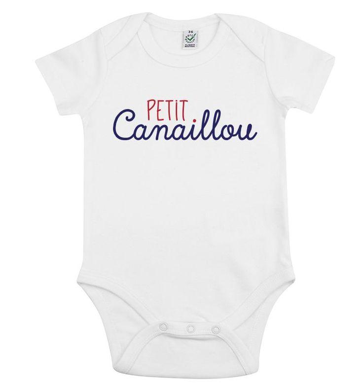 12/18mois - Body Petit Canaillou | Bébé TSHIRT | LIVRAISON GRATUITE