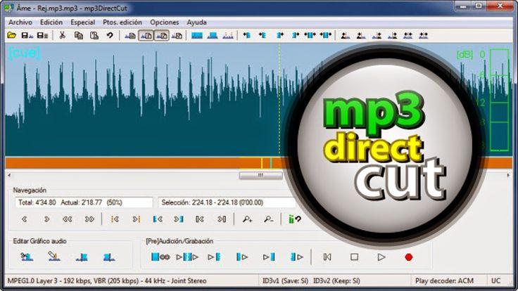 MP3 DirectCut 2.20 | Corta y Pega tus Canciones « Conocimientofour