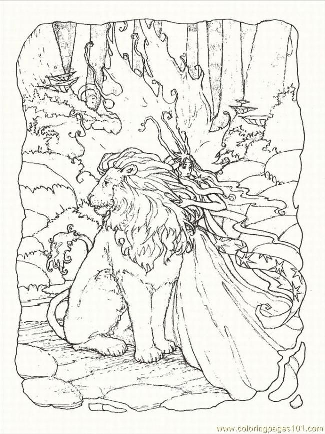 advanced coloring pages for adults coloring pages fantasy coloring pages 1 lrg - Fantasy Coloring Books For Adults