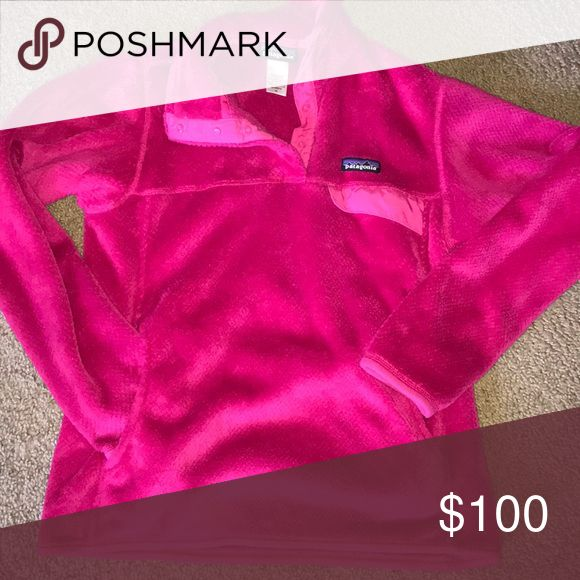 ⭐️ Patagonia Re-Tool Pullover ⭐️ $100 Trade Value ⭐️ Patagonia Re Tool Pullover | Size Medium | Deep Pink | Magenta Color | GREAT Condition~ Very Soft | Fluffy ~ |  Make Bundle VS PINK Sephora lularoe Nike coach armour citizens vigoss express Lou loft kors AE gap 925 bar kate KS jeans makeup hair palette spray perfume Patagonia Jackets & Coats
