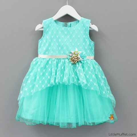 Turquoise Dress - Toddler & Girls