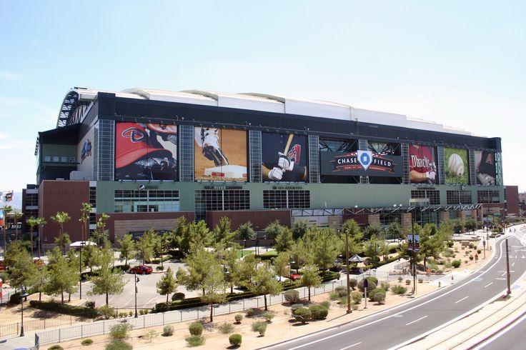 Chase Field, Phoenix, Arizona - Home of the Arizona Diamondbacks