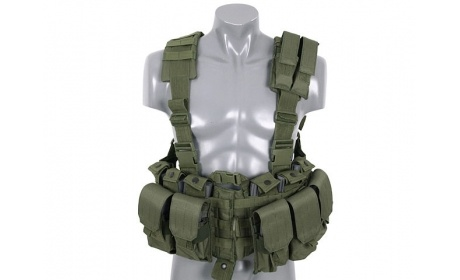 TACTICAL HARMESS OD #MOLLE #SCOUT #VEST #RRV #PLATECARRIER #CHALECO #TACTICO