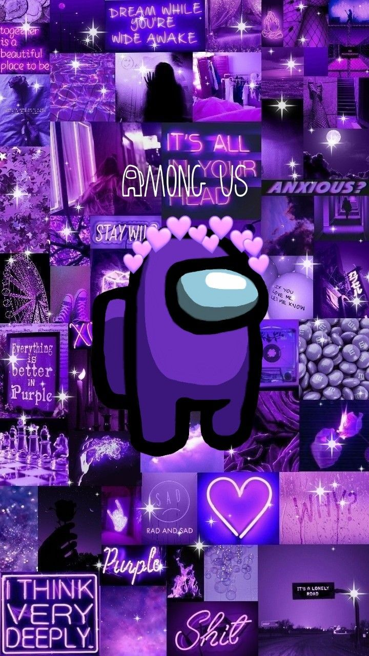 Among Us In 2021 Pretty Wallpaper Iphone Cute Wallpapers Neon Wallpaper