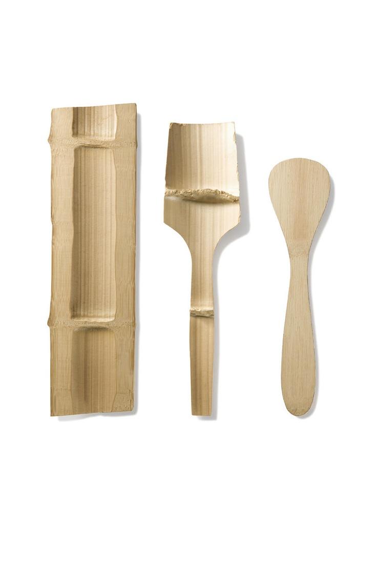 ♥ bambu utensil process+
