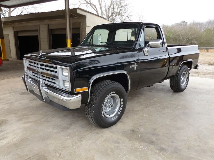 Black Beauty :) 87' Chevy Silverado