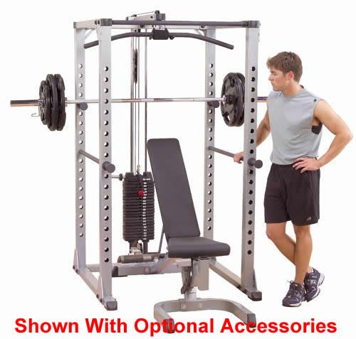 The Body Solid Power Rack Gym is a commercial design rack system with adjustable racking, and safety positions that gives the freedom of movement to those who want to strength train without compromise.   ▶️ http://www.net2fitness.com/body-solid-power-rack-gym.html