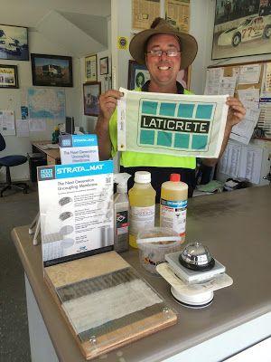 Laticrete Australia Conversations: Brims Twin Town Sand & Gravel stock LATICRETE!