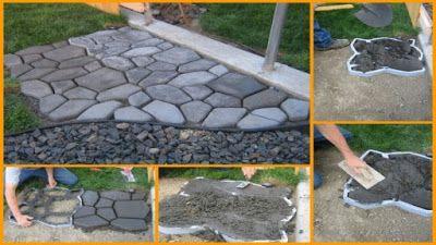 Trädgårdslycka: Smart plattsättning för trädgården!