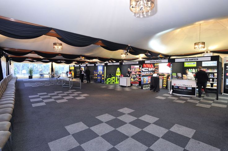 Marquee | Trade show set-up | Trade shows Melbourne | Events