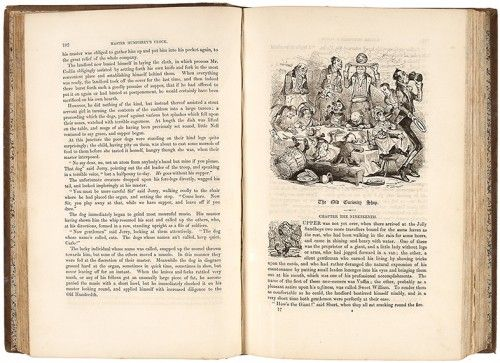 DICKENS, Charles. The Old Curiosity Shop.  Chapman and Hall, 1841. #literature