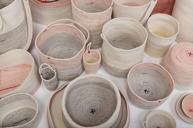 Brooklyn-based artist Doug Johnston make handmade rope baskets that reminds you of anthropology finds. He sews every single one of these sturdy storage baskets. These vessels utilize an old crafting technique in which rope or cord is…