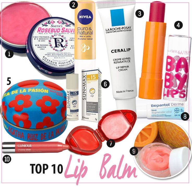 Top 10 Lip Balm: O fim dos lábios ressecados!