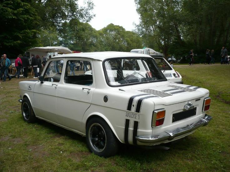 SIMCA 1000 Rallye I en 75 j'ai passé mon permis sur cette voiture