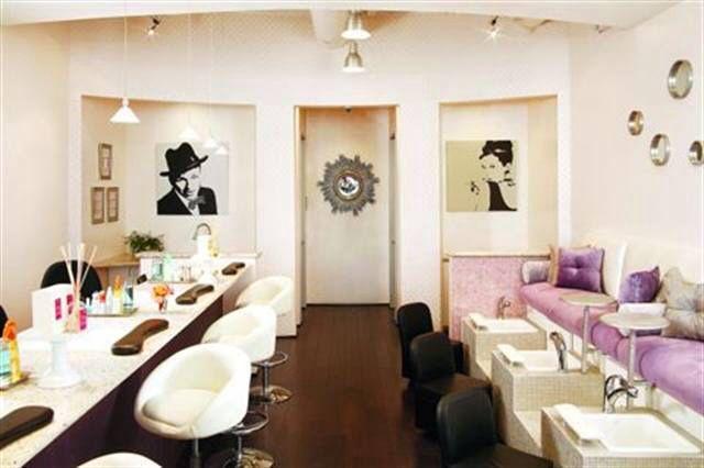 15 best cool nail salons images on pinterest manicures. Black Bedroom Furniture Sets. Home Design Ideas