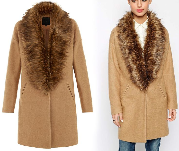 "New look ; "" boyfriend"" style; coat"