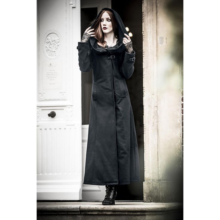 Gothicana by EMP  Wool Coat  »Cinderella« | Buy now at EMP | More Gothic  Wool coats  available online ✓ Unbeatable prices!
