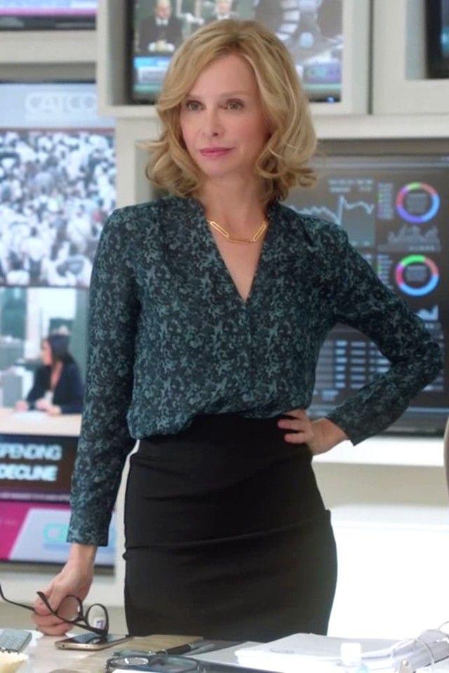 Calista Flockhart Cat Grant Supergirl S01E09 Blood Bonds