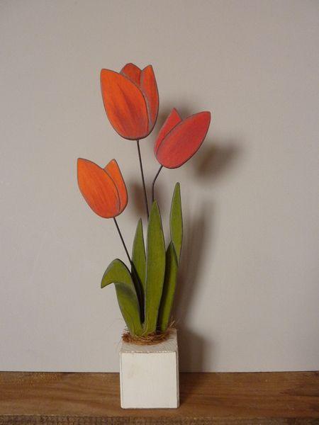 Tulpen von Woodlouse auf DaWanda.com