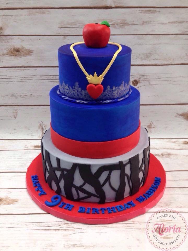 The Descendants Evie inspired birthday cake