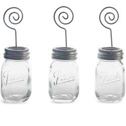 Preserve Jar Place Card Bud Vase @ Fancy Flours