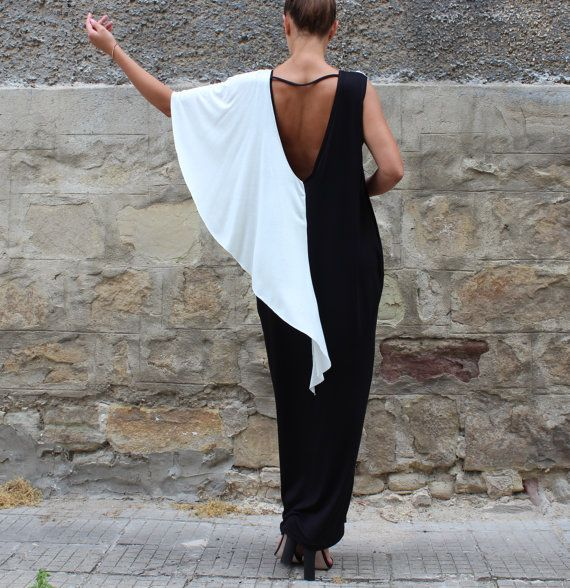 Check out this item in my Etsy shop https://www.etsy.com/listing/238476541/black-backless-dress-maxi-dress-caftan