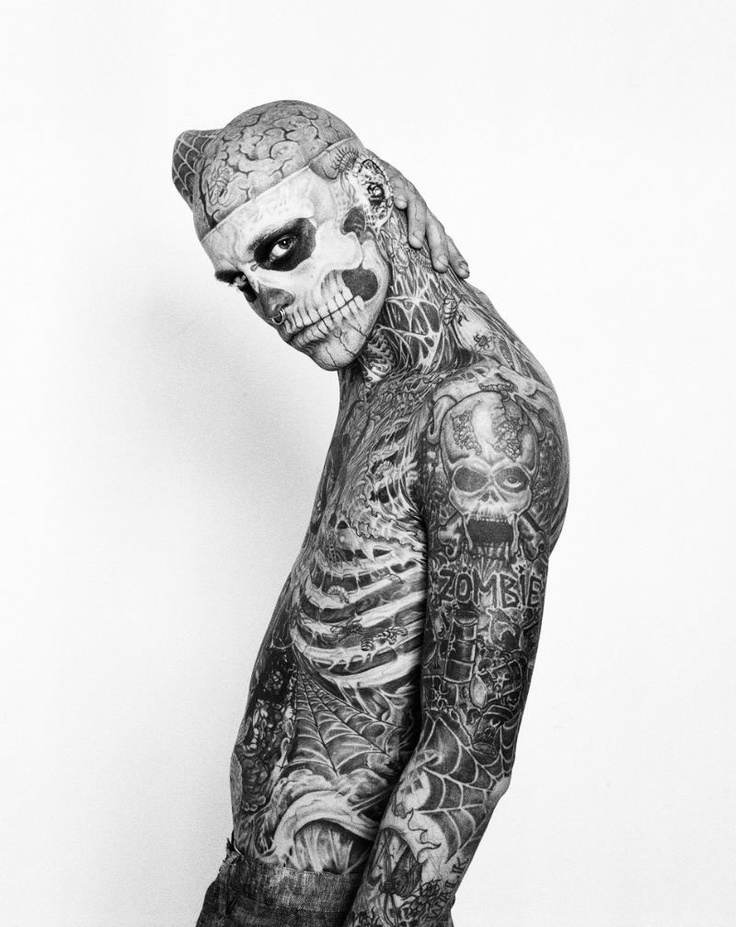 Rick Genest aka Zombie Boy is fricken hot!!!