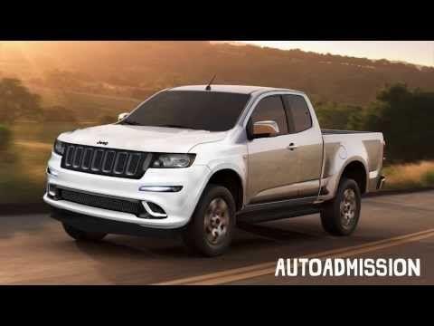 2015 Jeep Comanche - Compact Pickup Truck