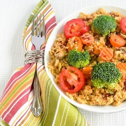 One Pot Veggie Quinoa | Veggies, Quinoa and One pot