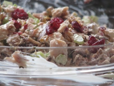 Alton Brown's Turkey Salad, perfect for after Thanksgiving