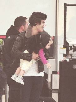 Harry with Baby Lux