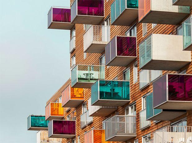Arquitetura contemporânea - WoZoCo - conjunto habitacional para idosos criado por MVRDV em Amsterdã;