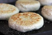 Gluten-Free Oat Sourdough English Muffins @ cultures for health