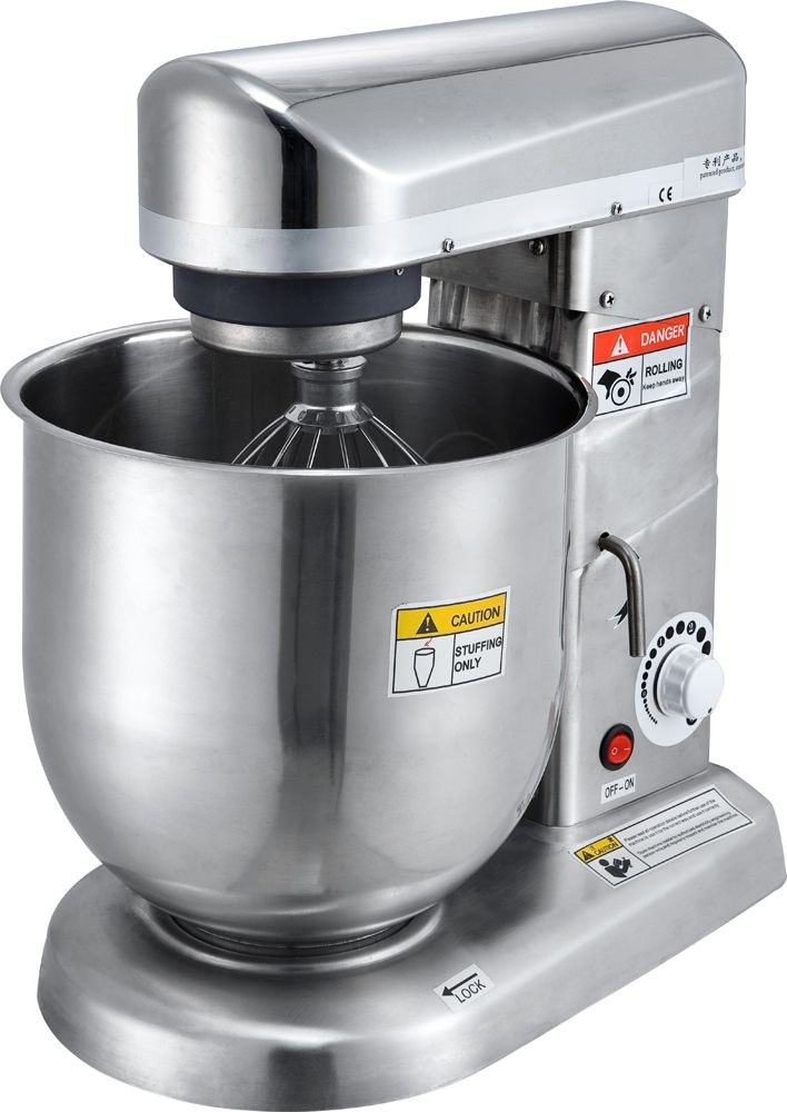 10 L Cream Mixer Machine Stepless Timing