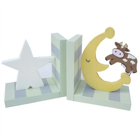 These adorable bookends are the perfect accessory for your baby's room!