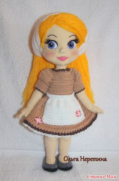 Куколка Золушка с набором одежды - Вязание - Страна Мам