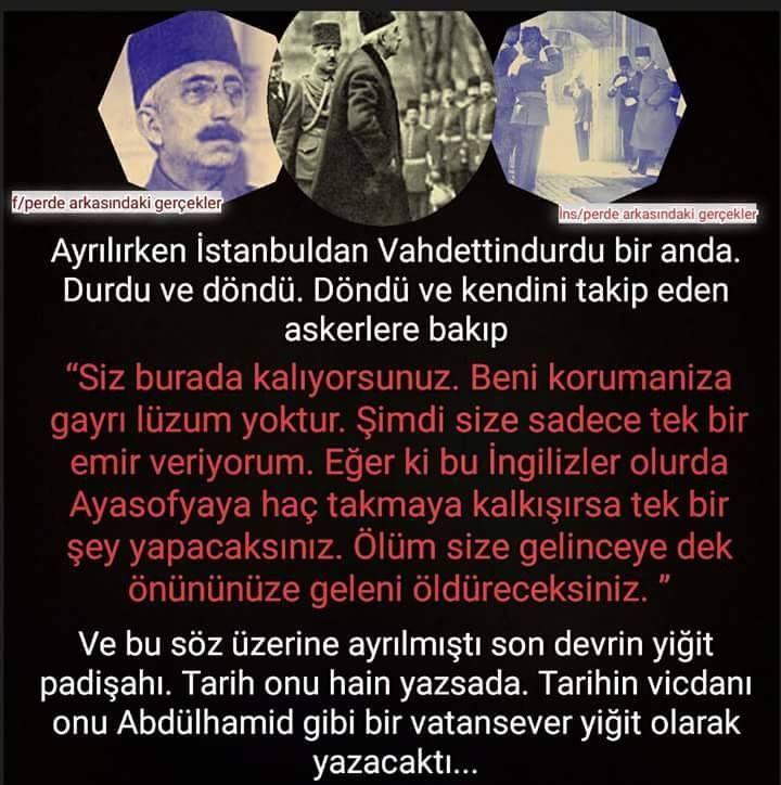 Osmanlı nin yıkılışı tek bir kişiye bağlanamaz. O da değerli bir padisah ti.