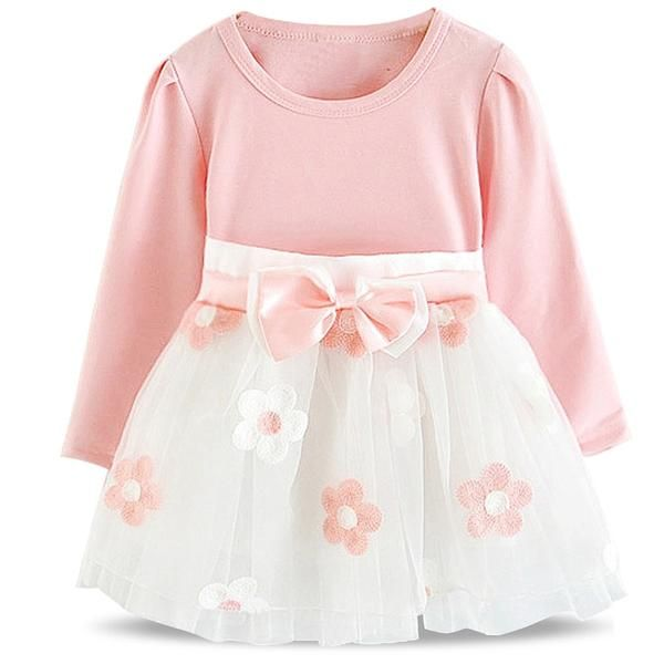 1 Year Birthday Baby Girl Party Dress Baptism Infant Christening Gown Newborn Toddlers Bebes Kids Clothes 6 9 12 18 24 Months