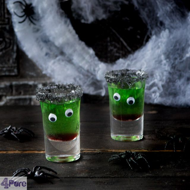 Halloween cocktail without alcohol - a recipe how to prepare this creepy Halloween cocktail no alcohol, thus great for kids