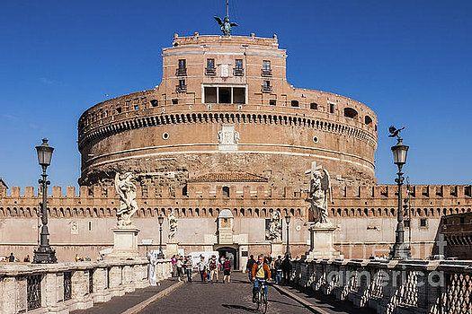 Rome, Italy - Castel Sant'Angelo by Devasahayam Chandra Dhas