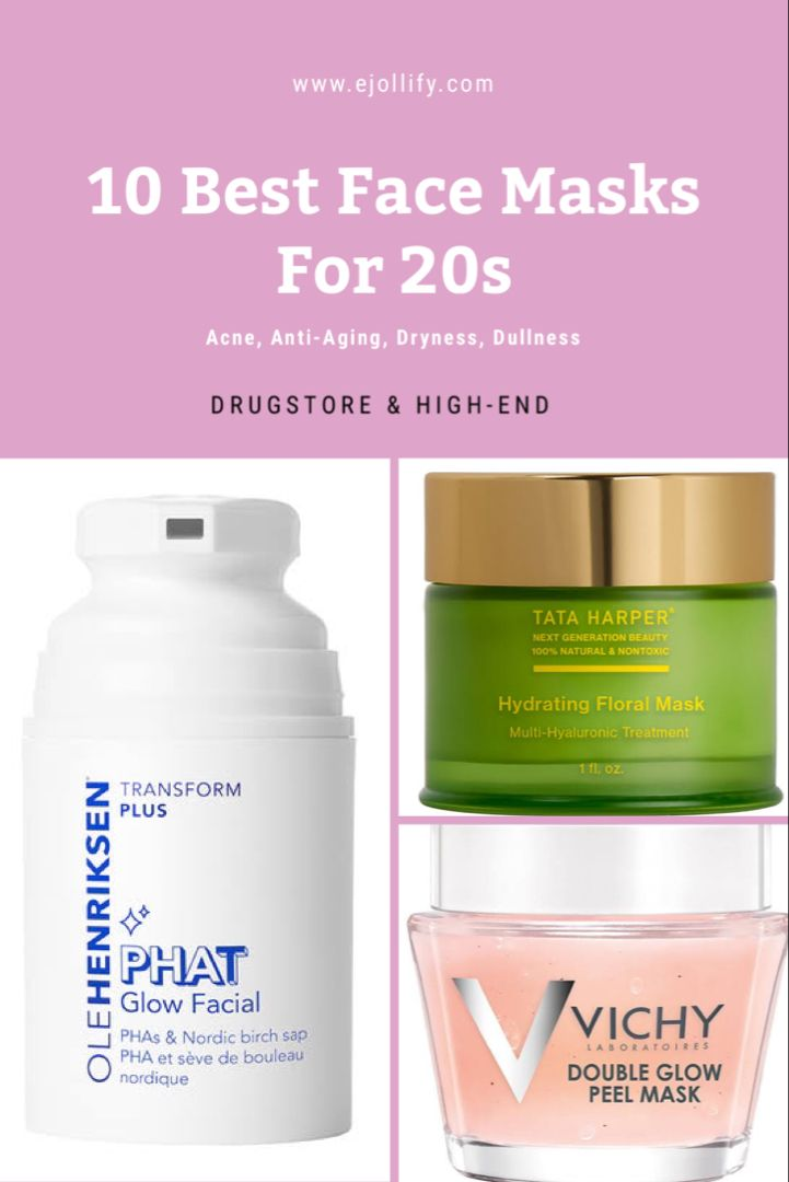 10 Best Face Masks For All Skin Issues In Your 20s 2020 In 2020 Best Face Products Best Face Mask Anti Aging Mask