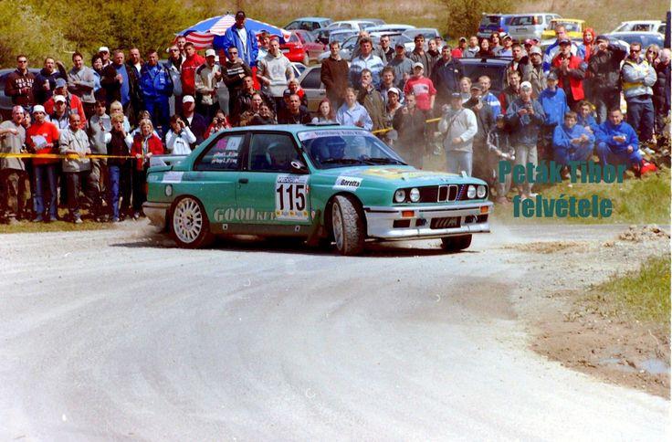 "Varga ""Cigány"" Zoltán - Sand Ferenc - BMW M3 (E30), Miskolc rali 2005"